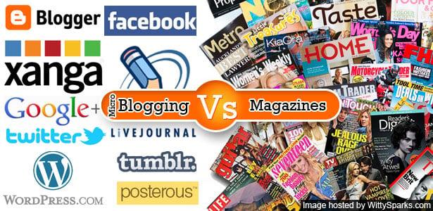 Micro Blogging, Blogging, News, Magazines