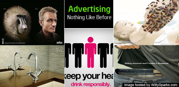 Creative - Yet Crazy - Advertisement Ideas