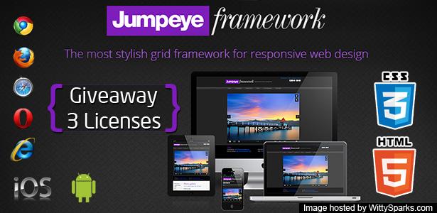 Jumpeye Framework - CSS3, HTML5 - Front-end Framework
