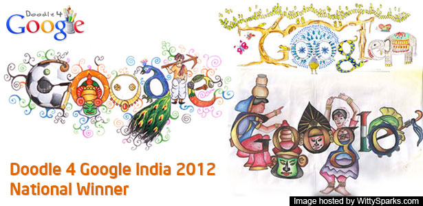 Doodle 4 Google winners for 2012