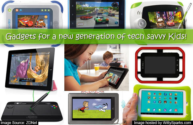 Gadgets for a new generation of tech savvy kids - KidTech