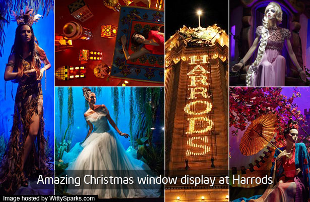 Harrods  - A mix of Fashion and Fairytale!
