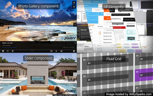 Jumpeye Framework - UI Elements, Fluid Grids, Photo and Content Gallery