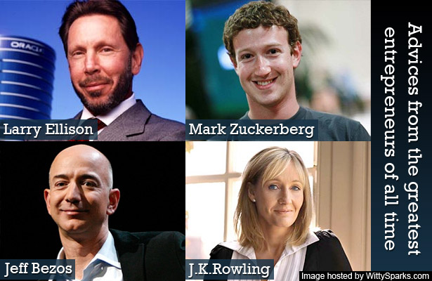 dvices from the greatest entrepreneurs