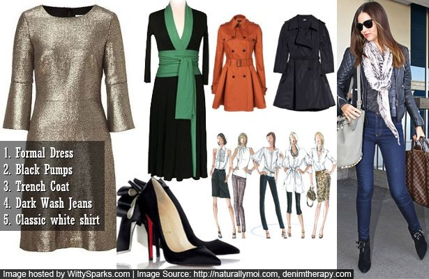 Ten must-have fashion and clothing items for every woman!