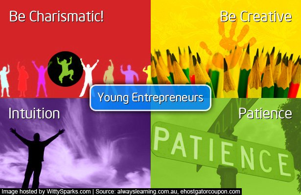 Successful Traits of Young Entrepreneurs