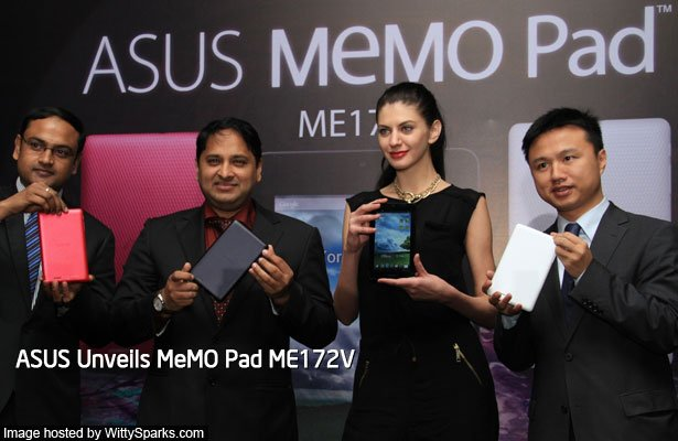 ASUS MeMO Pad is an affordable Tablet with Enticing Price in India