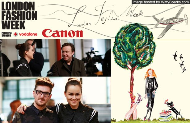 New photographers get to showcase their talent at the London fashion week, all thanks to cannon!