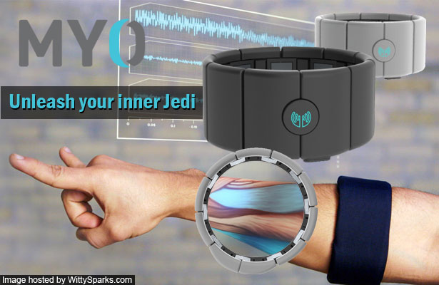 Gesture Control Arm Band