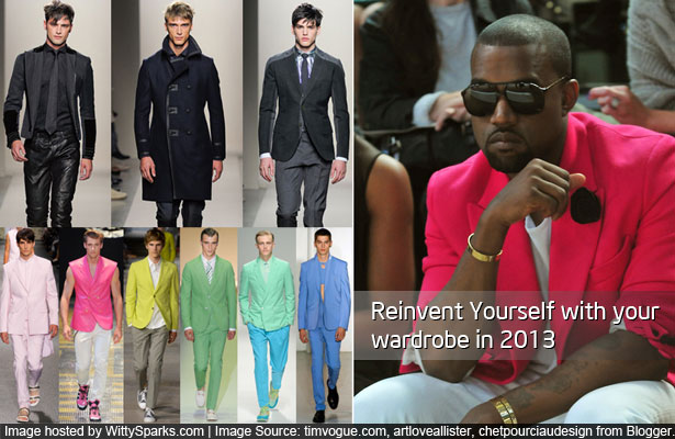 Reinvent Yourself with your wardrobe in 2013