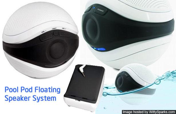 Pool Pod Floating Speaker System