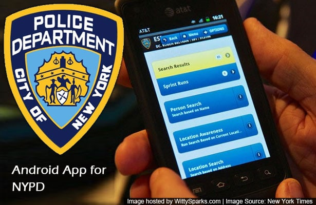 Android application for NYPD
