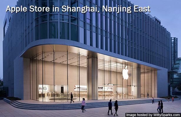 Apple Store, Shanghai, Nanjing East