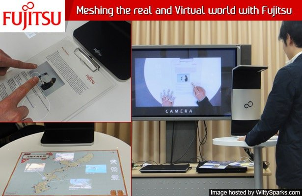 Meshing the real and Virtual world with Fujitsu