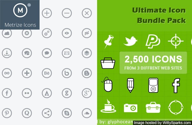 Metrize Icons and the ultimate Bundle Free Deal