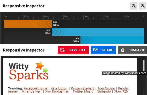 Responsive Inspector extension for the Google Chrome