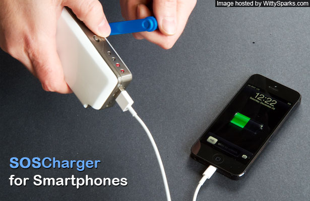 SOSCharger Self-Powered iPhone & Smart Phone Charger