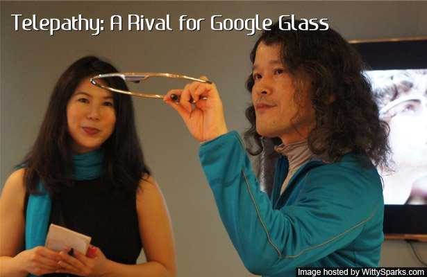 Telepathy - Google Glass rival from Japan