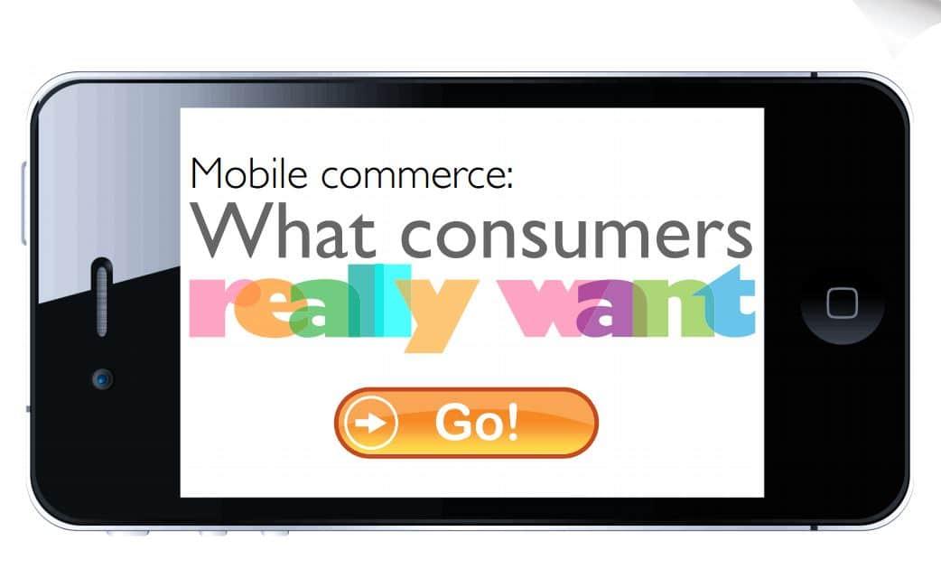 Mobile commerce UK