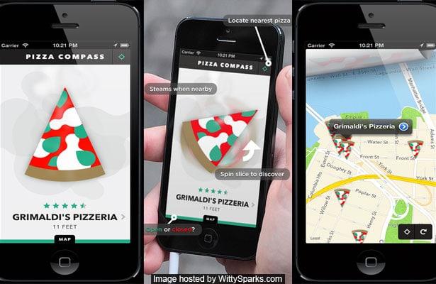 Pizza Compass. No frills, just pizza