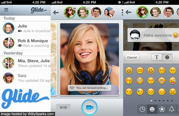 Glide - Video message your friends!
