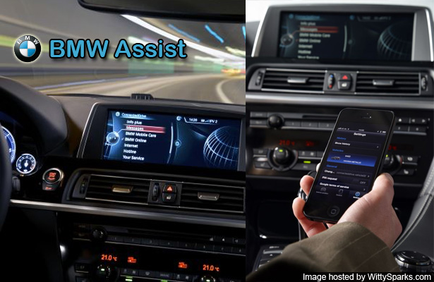 BMW ConnectedDrive 2013