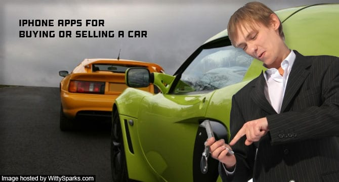 iPhone Apps for Buying or Selling a Car
