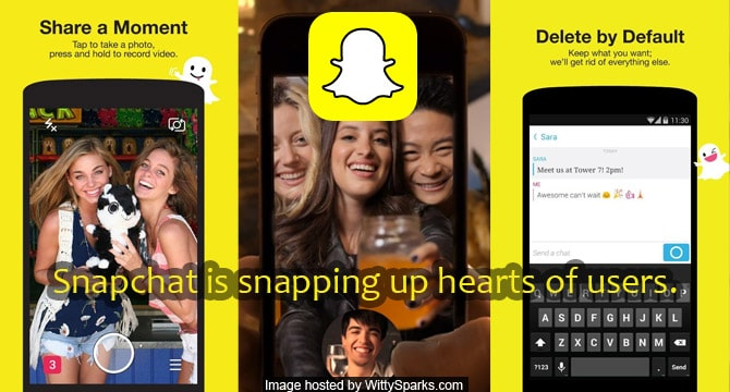Snapchat is snapping up hearts of users.
