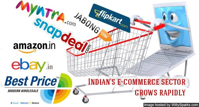 Indian's e-commerce sector grows rapidly
