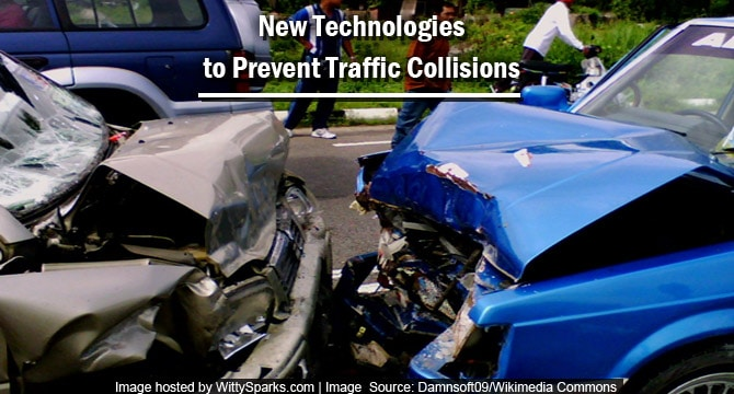Prevent traffic collisions or accidents with New Technology