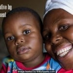 A mother and child in Zambia. The Ministry of Health has tapped IBM to provide 2 190 clinics with easier access to 200 life saving drugs. Photo Credit - UNICEF Zambia