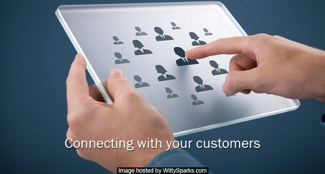 Technology and Marketing Connecting Customers