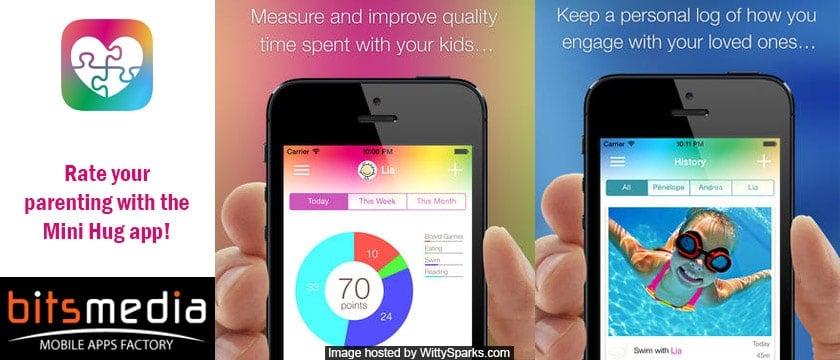 Mini Hug - Bitsmedia App for iOS