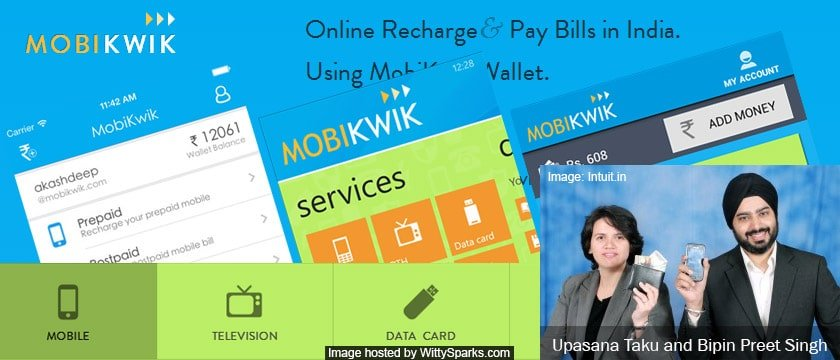 MobiKwik - Online Recharge and Pay Bills in India