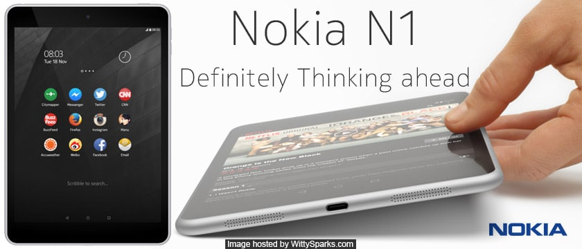 Nokia N1 an Android Tablet