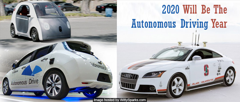 2020 will be the Autonomous Driving Year