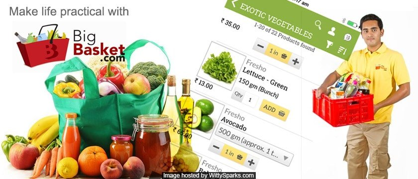BigBasket.com is the India's largest Online Grocery Retail Store