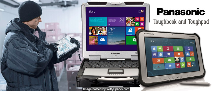 The new versions of a Toughbook and Toughpad from Panasonic