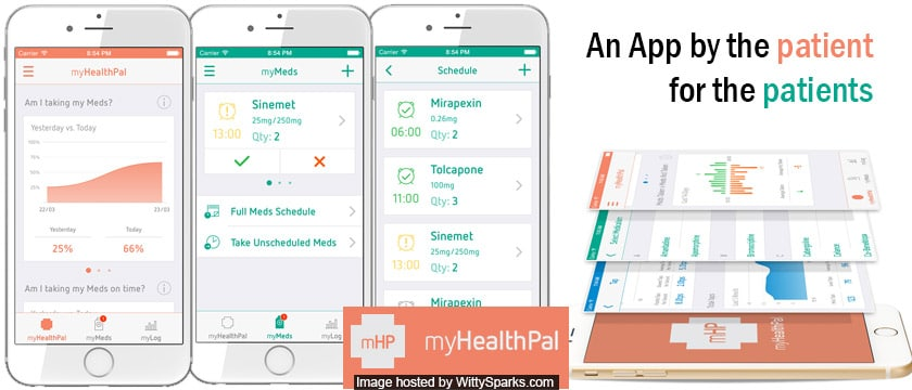 An App by the patient for the patients - MyHealthPal
