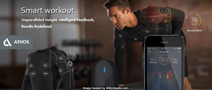 Athos - Wearable Technology for Smart Workout and for better Fitness