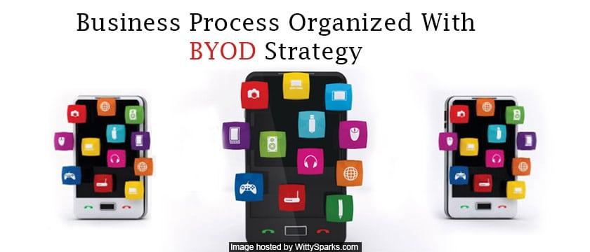 Business Process Organized With BYOD Strategy