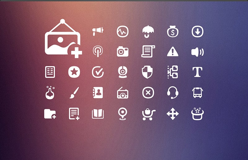 Icon Categories - Minimalist Icon Set