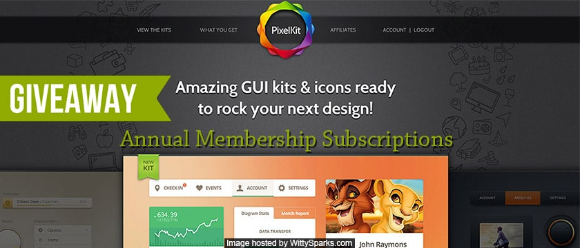 PixelKit - Annual Membership Subscriptions for free
