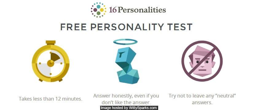 Take Free Personality Test