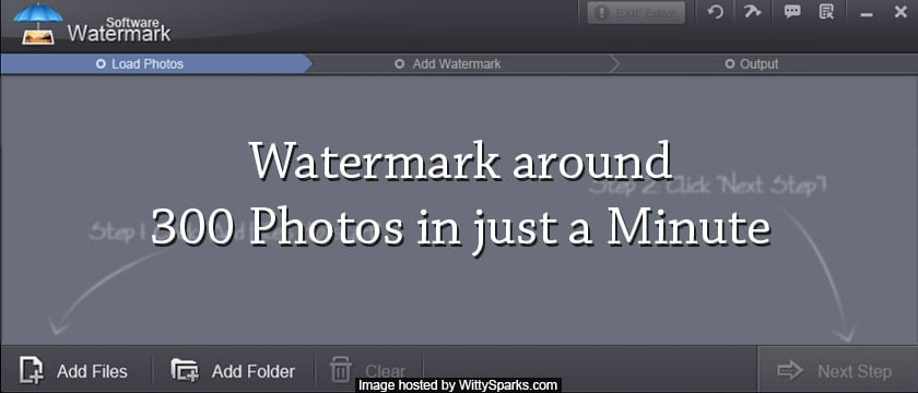 Free Photo and Video Watermark Software or Tools
