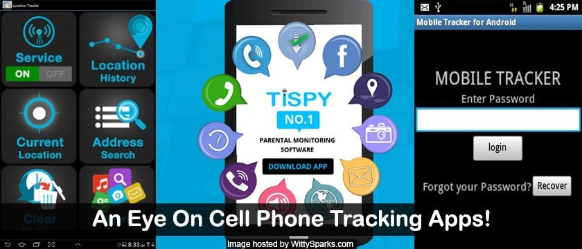 An Eye on Smartphone or Cellphone Tracking Apps
