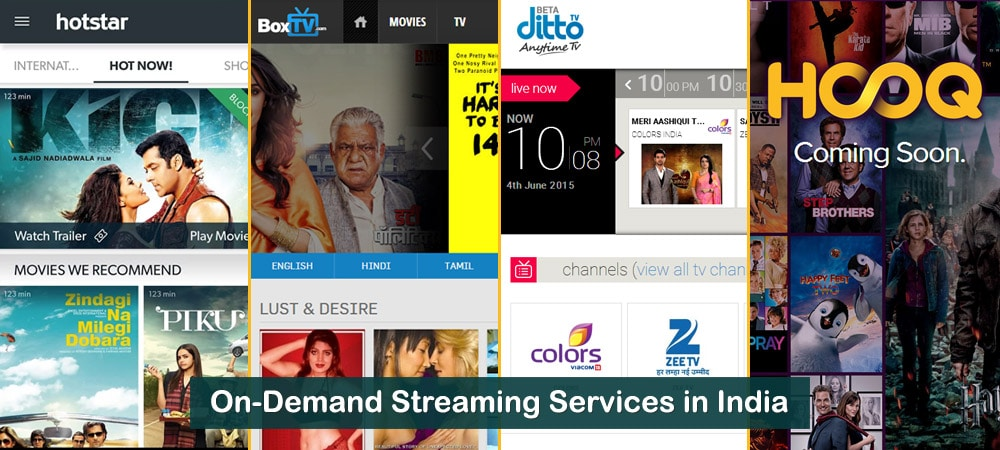 On-demand Streaming Media Services in India