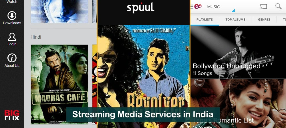 Multiple Streaming Media Services in India