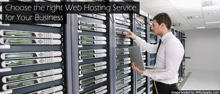 Choose the right Web hosting servers for your business