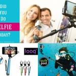 Variety In selfie stick land